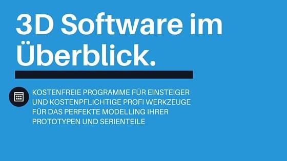 3d programme software